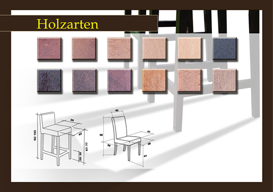 welt der stuehle online shop mit st hlen holzarten. Black Bedroom Furniture Sets. Home Design Ideas